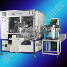 SA-250RUV Fully automatic cylindrical objects screen printing machine