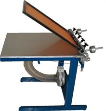 Screen printing table