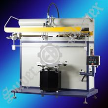 Printing machine for rotary and conical objects